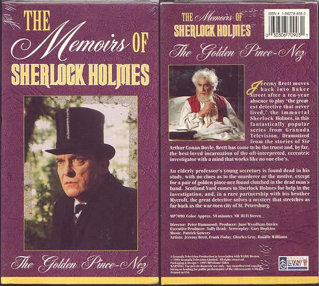 The Memoirs of Sherlock Holmes - Frank Finlay Net